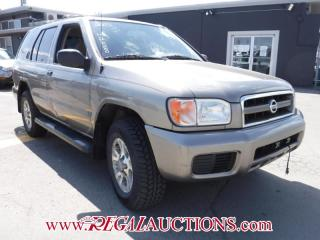 Used 2003 Nissan PATHFINDER CHILKOOT 4D UTILITY 4WD for sale in Calgary, AB