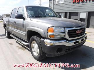 Used 2006 GMC SIERRA 1500  CREW CAB 4D 4X4 for sale in Calgary, AB