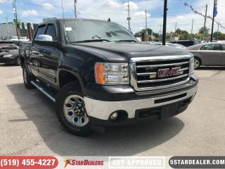 Used 2012 GMC Sierra 1500 SL | 4X4 | 6PASS | V8 for sale in London, ON