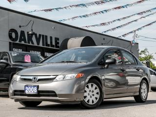 Used 2008 Honda Civic 4DR AUTO for sale in Oakville, ON