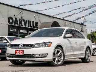 Used 2013 Volkswagen Passat 4dr Sdn 2.0 TDI Highline for sale in Oakville, ON