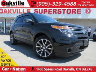 Used 2015 Ford Explorer XLT | LEATHER | NAV | 7 SEATER | AWD | for sale in Oakville, ON