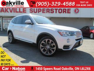 Used 2015 BMW X3 xDrive28d | NAV | B\U CAM | HEATED SEATS | DIESEL for sale in Oakville, ON