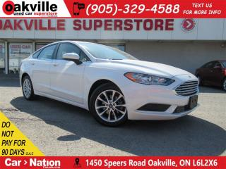 Used 2017 Ford Fusion SE | B\U CAM | B\T | CRUISE CONTROL | for sale in Oakville, ON