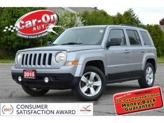 Used 2015 Jeep Patriot SUNROOF HTD SEATS ALLOYS REMOTE START LOADED for sale in Ottawa, ON