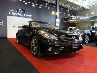 Used 2014 Infiniti Q60 SPORT / NAVIGATION / CONVERTIBLE for sale in North York, ON