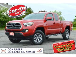 Used 2016 Toyota Tacoma SR5 4X4 AUTO REAR CAM ALLOYS ONLY 14,000 KM for sale in Ottawa, ON