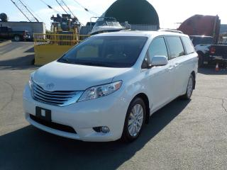 Used 2012 Toyota Sienna Limited AWD 7-Passenger V6 for sale in Burnaby, BC