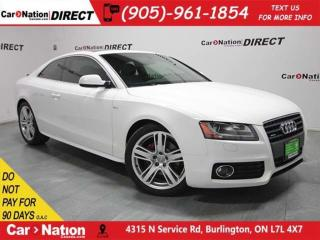 Used 2010 Audi A5 2.0T quattro| S-LINE| SUNROOF| for sale in Burlington, ON