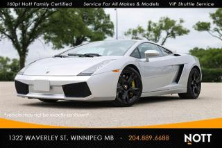 Used 2005 Lamborghini Gallardo V10 500hp AWD 6-Speed Gated for sale in Winnipeg, MB