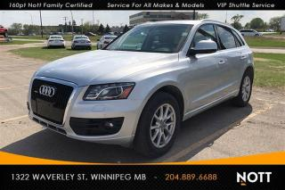 Used 2012 Audi Q5 3.2 V6 Premium LOADED w/ Nav B for sale in Winnipeg, MB