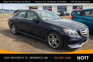 Used 2014 Mercedes-Benz E-Class E300 AWD Nav Local 1-Owner 360 for sale in Winnipeg, MB
