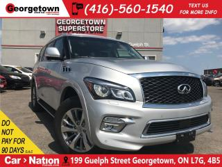 Used 2017 Infiniti QX80 7 Passenger | FULLY LOADED | BRAND NEW VEHICLE | for sale in Georgetown, ON
