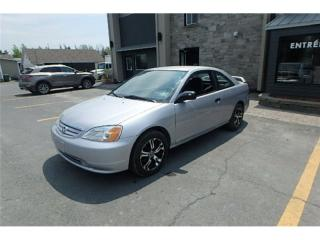 Used 2002 Honda Civic DX for sale in St-Philibert, QC