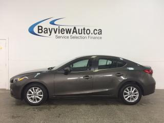 Used 2014 Mazda MAZDA3 GS-SKY - ALLOYS! SUNROOF! PUSH BTN START! HTD STS! CRUISE! for sale in Belleville, ON