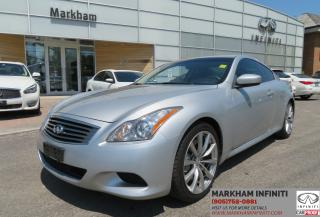 Used 2008 Infiniti G37 Sport Navi , Camera, Leather, Sunroof for sale in Unionville, ON