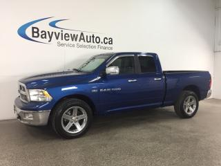 Used 2011 RAM 1500 - HEMI! QUAD! CHROMES! TOW/HAUL! CRUISE! for sale in Belleville, ON