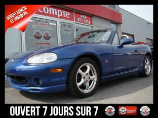 Used 1999 Mazda Miata MX-5 10ème ANNIVERSAIRE  DÉCAPOTABLE/CABRIOLE for sale in Mascouche, QC