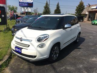 Used 2015 Fiat 500 L Lounge for sale in Brantford, ON