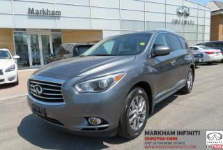 Used 2015 Infiniti QX60 Base Premium, Drivers Assist, Navi, Sunroof, BSM for sale in Unionville, ON