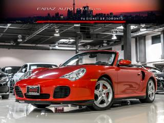 Used 2004 Porsche 911 TURBO|X50 PKG|CABRIOLET|AWD|NAVI|PARKING SENSORS for sale in North York, ON