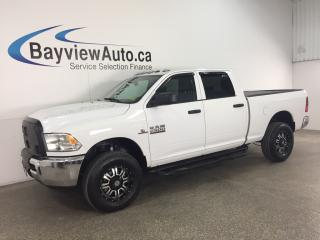Used 2016 RAM 2500 - CUMMINS! HITCH! REVERSE CAM! TOW/HAUL! for sale in Belleville, ON