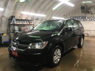 Used 2016 Dodge Journey SE*KEYLESS ENTRY*POWER WINDOWS/LOCKS/HEATED MIRRORS*PUSH BUTTON IGNITION*DUAL ZONE CLIMATE CONTROL*CRUISE CONTROL*TRACTION CONTROL*AM/FM/CD/AUX/USB* for sale in Cambridge, ON