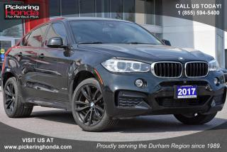 Used 2017 BMW X6 xDrive35i Navigation|Leather Upholstery|Rearview Camera for sale in Pickering, ON