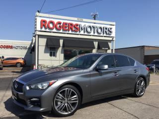 Used 2014 Infiniti Q50 SPORT AWD - NAVI - REVERSE CAM for sale in Oakville, ON