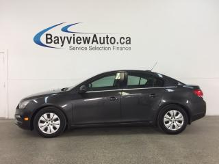 Used 2016 Chevrolet Cruze - TURBO! A/C! REVERSE CAM! PIONEER! MY LINK! for sale in Belleville, ON
