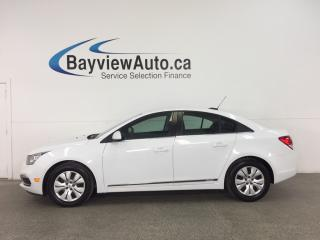 Used 2016 Chevrolet Cruze Limited 1LT - TURBO! REM START! A/C! REV CAM! CRUISE! for sale in Belleville, ON