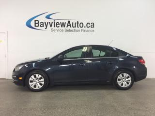Used 2016 Chevrolet Cruze Limited 1LT - TURBO! REM START! REV CAM! ON STAR! MY LINK! CRUISE! for sale in Belleville, ON