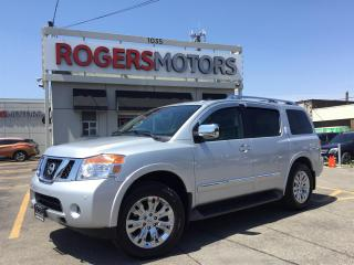 Used 2015 Nissan Armada PLATINUM 4WD - DUAL DVD - NAVI - REVERSE CAM for sale in Oakville, ON