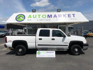 Used 2007 Chevrolet Silverado 2500 HD LS Crew Cab 4WD FINANCE IT! for sale in Langley, BC