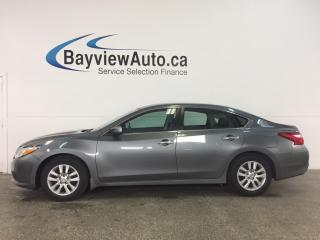 Used 2016 Nissan Altima 2.5 S - REM START! A/C! REVERSE CAM! BLUETOOTH! for sale in Belleville, ON