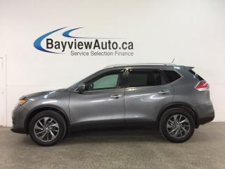 Used 2016 Nissan Rogue SL Premium - AWD! PANOROOF! HTD LTHR! NAV! BSD! NISSAN CONNECT! for sale in Belleville, ON
