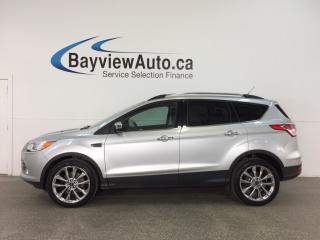 Used 2015 Ford Escape SE - ECOBOOST! 4WD! HTD STS! SYNC! REV CAM! for sale in Belleville, ON