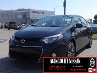 Used 2016 Toyota Corolla  NAVI LEATHER PADDLE SHIFTER SUNROOF  for sale in Scarborough, ON