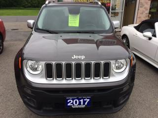 Used 2017 Jeep Renegade Limited limited for sale in Morrisburg, ON