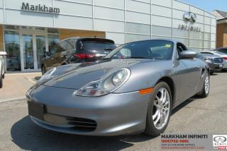 Used 2003 Porsche Boxster Safety Certified, Low Mileage, No Accidents for sale in Unionville, ON