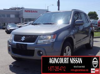 Used 2008 Suzuki Grand Vitara JLX V6|4WD||AS-IS SUPERSAVER| for sale in Scarborough, ON