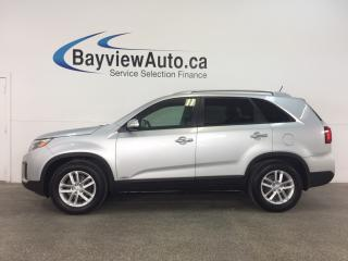 Used 2014 Kia Sorento LX - AWD! ALLOYS! HTD SEATS! PARK AID! BLUETOOTH! for sale in Belleville, ON