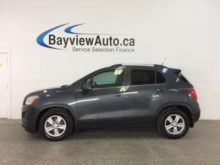 Used 2014 Chevrolet Trax 1LT - KEYLESS ENTRY! A/C! ON STAR! CRUISE! for sale in Belleville, ON