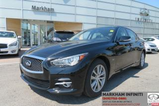 Used 2017 Infiniti Q50 2.0T Leather, Sunroof, Backup Camera for sale in Unionville, ON
