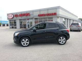 Used 2014 Chevrolet Trax LTZ for sale in Owen Sound, ON