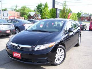 Used 2012 Honda Civic EX,Sunroof,Alloys,Key less for sale in Kitchener, ON