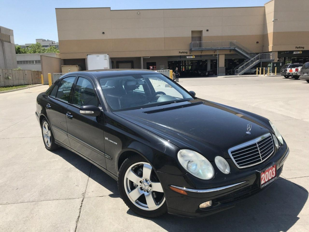 used 2003 mercedes benz e500 5 0l for sale in north york. Black Bedroom Furniture Sets. Home Design Ideas