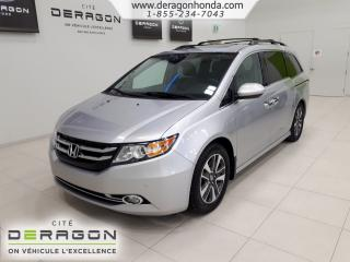 Used 2015 Honda Odyssey Touring + 8 for sale in Cowansville, QC