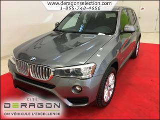 Used 2015 BMW X3 Xdrive28i + Xdrive + Cuir for sale in Cowansville, QC