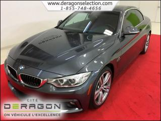 Used 2015 BMW 4 Series 435i xDrive for sale in Cowansville, QC